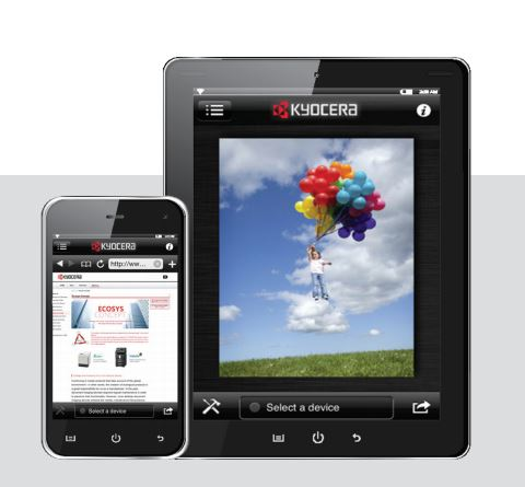 Print from your phone with Kyocera apps